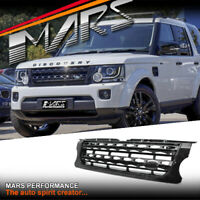 Gloss Black Bumper Bar Grille Grill Body for LAND ROVER Discovery 4 L319 14-16
