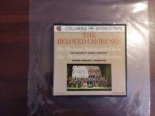 """1960s RARE EXC Mormon Tabernacle Choir,The Beloved Chorus REELTAPE 7"""" PH-4 mq523"""