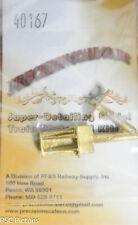 Precision Scale O #40167 Coupler Pocket & Plate, Locomotive (Brass Casting)