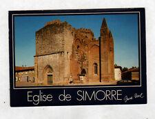 SIMORRE (32) CITROEN GS à l'EGLISE Fortifiée du XIX° Siécle & CALVAIRE