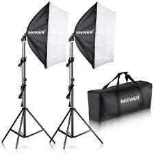 "Neewer 700W Photography 24""x24""/60x60cm Softbox w/ E27 Socket Lighting Kit"