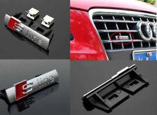 Stemma Emblema Fregio Griglia Anteriore AUDI S LINE A1 A3 A4 A5 A6 A7 Q3 Q5 Q7