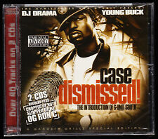 YOUNG BUCK, DJ DRAMA - CASE DISMISSED - 2 x CD ALBUM - 21 TRACKS - NEW & SEALED