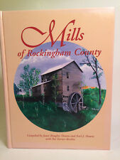 Mills of Rockingham County, Vols 1-4, Janet Baugher Downs & Earl J Downs, Signed