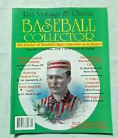 The Vintage & Classic Baseball Collector Magazine #15 May/June 1998