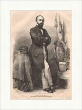 Rudolph Virchow legno chiave chiosco medico politici POLTRONA libri cappello P 0148