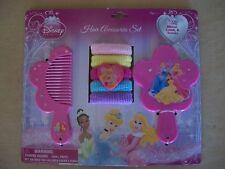 Disney Princess Hair Accessories Set, (Comb, Mirror & Terries), NEW IN PACKAGE!!