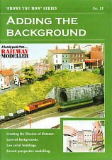 Peco SYH 15 The Railway Modeller Book Adding The Background 8 page Booklet