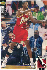 1994-1995 Upper Deck Collector's Choice Card Steve Smith #279 Atlanta Hawks