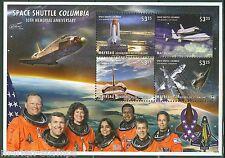 Mayreau 2013 10th Memorial Anniversary Of Space Shuttle Columbia Sheet