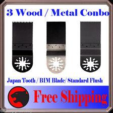 3 Oscillating Multitool Saw Blade For Performax Ridgid Makita Jobmax Ryobi 18v