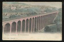 Yorks HUDDERSFIELD Lockwood Viaduct 1904 PPC