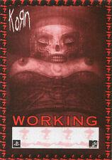 KORN 2002 Untouchables Concert Tour Backstage Pass!!! Authentic PERRI