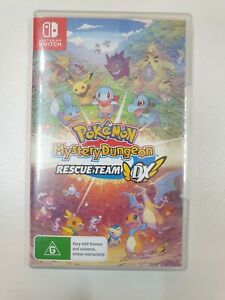 POKEMONMystery Dungeon - Nintendo Switch Game   Excellent Condition