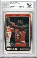 1988 Fleer Micheal Jordan #17 Chicago Bulls EX - Mint BGS 6.5 Nike Air Jumpman