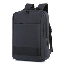 Laptop Backpack 15.6 in USB Charging Waterproof Large Travel School Bag Black US