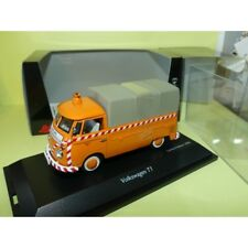 VW COMBI T1 PICK UP SCHIENENKONTROLLE SCHUCO 1:43
