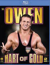WWE: Owen - Hart of Gold (Blu-ray Disc, 2015, 2-Disc Set)