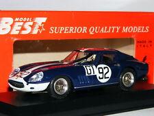 Best 9133 Ferrari 275 GTB/4 1967 Nurburgring 1000km #92 1/43