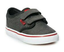 Vans Toddler Boys' Atwood V Black/Chili Pepper Skate Shoes - Size 5 NWB