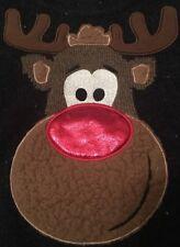 Sainsburys TU Baby Boys Christmas Rudolph Reindeer Jumper Xmas 9-12 Months Retro