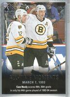 2015-16 SP Authentic Hockey #141 Cam Neely ATM Boston Bruins