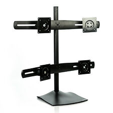"""Ergotron DS100 Steel 2x2 Quad Monitor Mount Desk Stand - 33-324-200 - up to 24"""""""