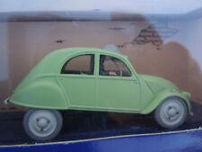 La 2 cv de l'affaire Tournesol Hergé Moulinsart En voiture Tintin 2 cv citroen