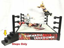 SSWI WWF WWE WCW Compatible Event Wrestling Ring Steps Add-ons for figures