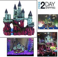 Aquarium Ornaments Resin Big Castle Decorations Fish Tank Magic Castle Hogwarts
