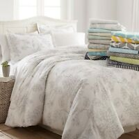 Ultra Soft 3 Piece Patterned Duvet Cover Set Spring Collection by Linen Market