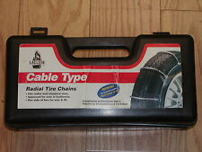 CABLE TIRE CHAINS LACLEDE #1022,  185/60-14, 185/70-14, 185/75-14, 185/80-13