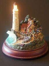 Thomas Kinkade Hawthorn Village The Light of Peace 1999 Light Up