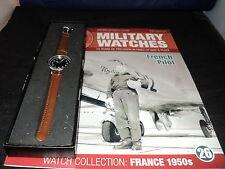 EAGLEMOSS OROLOGI MILITARI tema 26-pilotaggio francesi dell' Orologio degli anni cinquanta.