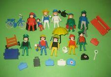 älteres Playmobil / Reisende und Figuren für den Zug / Klicky / Konvolut 4
