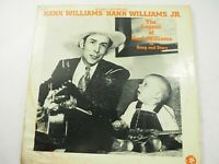 Hank Williams / Hank Williams Jr. ‎– The Legend Of Hank Williams... MGM SES4865