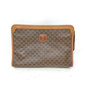 CELINE Clutch Bag  Browns PVC 1528729