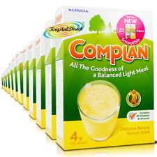 12x Complan Banana Nutrition Vitamin Supplement Protein Energy Drink 4x55g