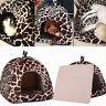 Leopard PET-Bett Kissen Hund Katze warme Matte Soft Pad Sleeping·Hausp 2018
