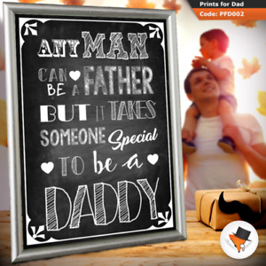 Someone special Father s Day Gift Birthday Present for Dad Daddy Him present