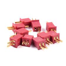 10 Paar T Mini Dean Stecker Buchse 15 A verpolsicher 20 Stück Deans T Micro