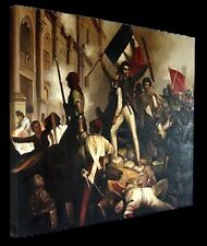 """Reproduct Oil Painting """"Jean Schnetz-The Battle for the Town""""ready to hang-36x30"""