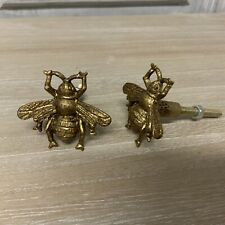 Vintage Brass Style Bumble Bee Drawer Cupboard Knob Pull Door Handle