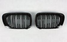 calandre pour BMW e46 cabriolet coupé noir brillant noir brillant Double Latte