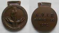 medaglia avis Parabiago 1972