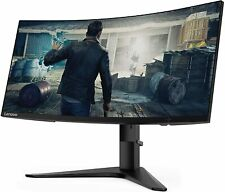 Lenovo G34w-10 34-Inch WQHD Curved Gaming Monitor 66A1GCCBUS - Brand New!