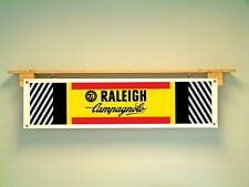Raleigh TI BANNER Cycle Racing Team retro 80s look Display Sign