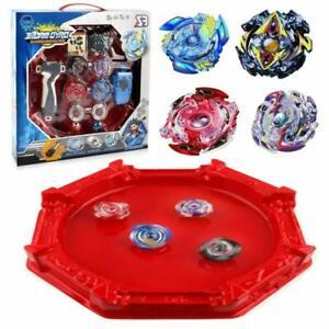 Boxed Burst Beyblade Battle Fight Starter W/ Grip Launcher Arena Kids Gift