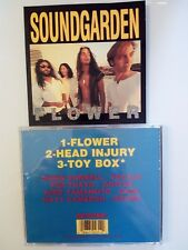 SOUNDGARDEN - FLOWER -  3 TRACKS  CD