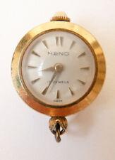 Pendentif montre boule mécanique watch HENO Swiss made pendant ancien